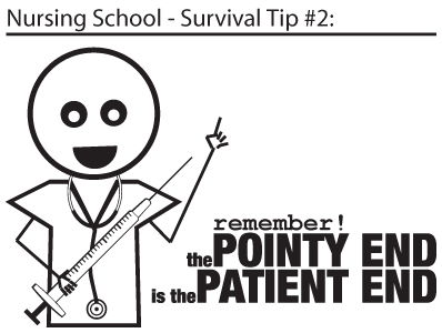 nursing school - survival tip #2
