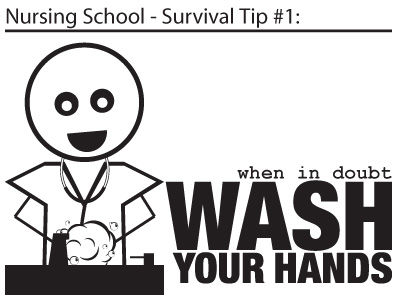 nursing school - survival tip #1